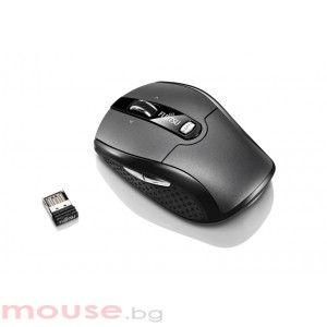 Мишка FUJITSU Безжична мишка Wireless Notebook Mouse WI610 Nano USB receiver 5 programable keys sensor with max 2000 dpi resolution retail box