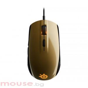 Мишка STEELSERIES Rival 100 Alchemy Gold геймърска