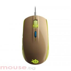 Мишка STEELSERIES Rival 100 Gaia геймърска зелен
