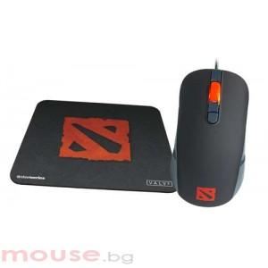 Геймърска мишка и пад SteelSeries Kana DOTA 2