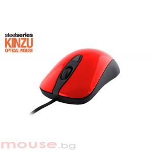 Геймърска мишка SteelSeries Kinzu v2 Pro Red