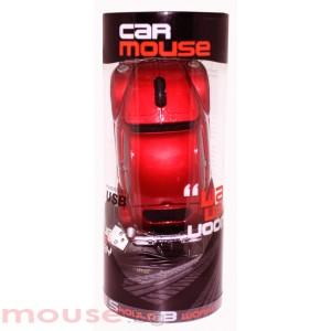 Мишка SATZUMA RED CAR  /червена кола/ USB