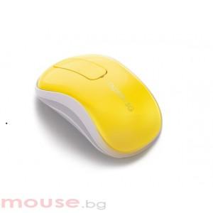 RAPOO T120P Безжична тъч мишка, жълта