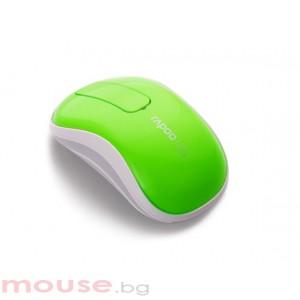 RAPOO T120P Безжична тъч мишка, зелена