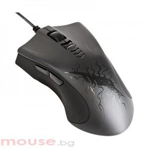 Геймърска лазерна мишка Gigabyte Force M7 THOR черна, USB