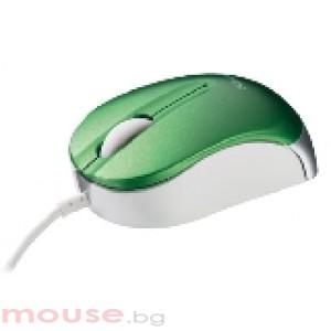 TRUST Nanou Micro Mouse - Green