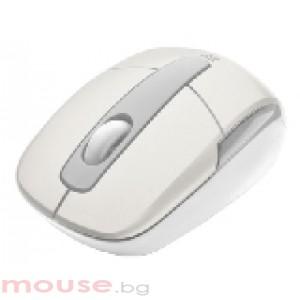 TRUST Eqido Wireless Mini Mouse - White