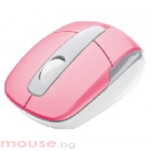 TRUST Eqido Wireless Mini Mouse - Pink