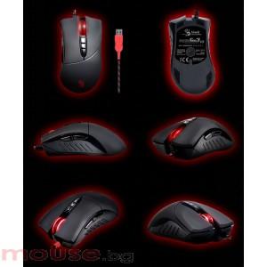 Геймърска мишка Bloody V3, до 3200 DPI, Multi-core FPS