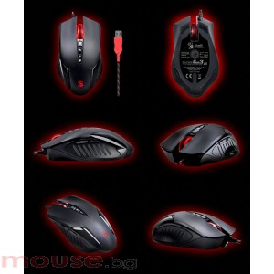 Multi-Core Gun3 Gaming Mouse V5 BLOODY с метални крачета