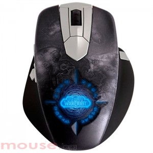 Геймърска мишка SteelSeries WOW Wireless Mouse