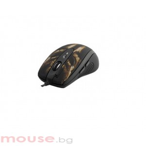 Мишка A4 TECH OSCAR XL-750BK, USB, лазерна геймърска