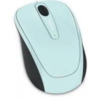 Mишка MICROSOFT Wireless Mobile 3500 Aqua Blue Gloss,BlueTrack