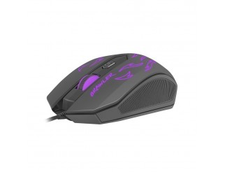 Мишка FURY Gaming mouse, Brawler optical 1600dpi Illuminated Black