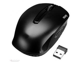 Мишка HAMA GMBH безжична оптична AM-7400 USB, черна