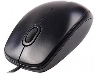 Жична оптична мишка LOGITECH M90 910-001793, USB, Черен