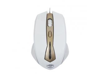 Геймърска мишка, ZornWee Legend Of Heroes Z036, Оптична, Бял