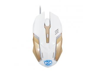 Геймърска мишка, ZornWee Legend Of Heroes Z037, Оптична, Бял