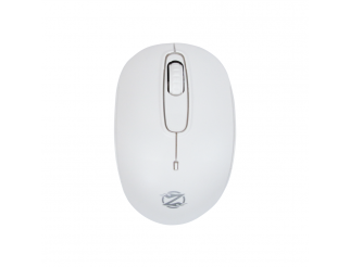 Мишка, ZornWee W110, Безжична, Бял
