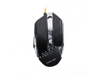 Геймърска мишка, ZornWee, GX10, Оптична, Черен