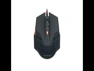 Геймърска мишка ZornWee G706, Оптична, Черен