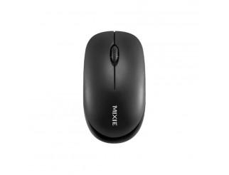 Мишка Mixie R516, Безжична, USB, 3D, Черен