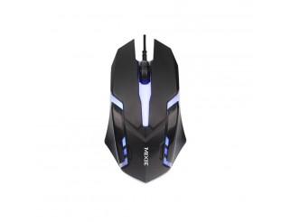 Геймърска мишка Mixie X3, Оптична, 3D, Черен