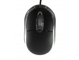 Мишка DeTech, Оптична, Черен