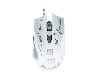 Геймърска мишка, ZornWee Z3, Оптична, Бял
