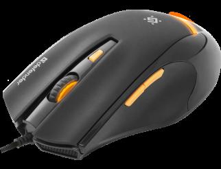 Мишка DEFENDER Warhead GM-1710 жична геймърска оптична