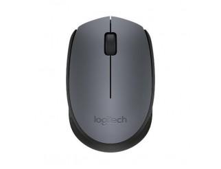 Безжична оптична мишка LOGITECH M170, Сива, USB