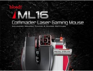 Мишка A4 TECH Bloody Commander ML-16 Черна