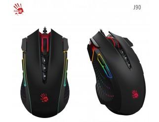 Геймърска мишка Bloody J90, Оптична, Жична, USB