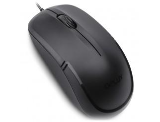 DELUX DLM-M138BU 3D Wired,USB, Black