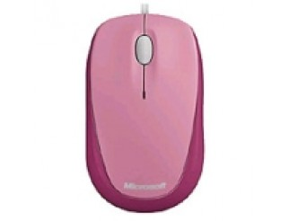 Microsoft Compact Optical Mouse USB Strawberry Sorbet Pink