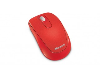 Microsoft Wireless Mobile Mouse 1000 USB ER English Flame Red Retail