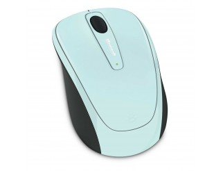 Microsoft Wireless Mobile Mouse 3500 USB Aqua Blue_1 GMF-00193