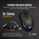 Мишка CORSAIR Glaive RGB PRO, Comfort FPS/MOBA Gaming Mouse with Interchangeable Grips, Aluminum, Backlit RGB LED, 18000 DPI, Optical (EU version)